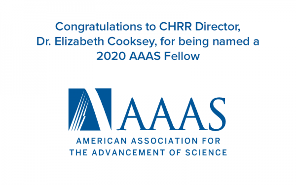 Dr. Cooksey selected as a 2020 AAAS Fellow